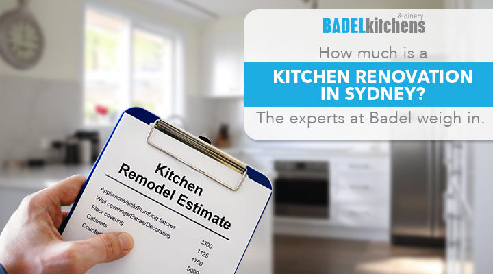 How much is a kitchen renovation in Sydney